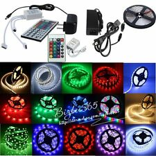 New 5M SMD 150/300/600LEDs 3528 5050 5630 3014 RGB LED Strip Lamp For Xmas Decor