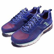 Fila Deliver 360 Energized Blue White Womens Running Shoes Sneakers 5-J528Q-847