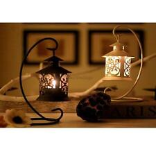 Black White Moroccan Candle Holder Tea Light Stand Table Centerpiece Decor