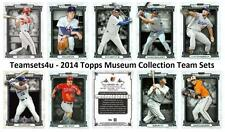 2014 Topps Museum Collection Baseball Team Sets ** Pick Your Team Set **