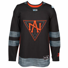 adidas North America Hockey Black World Cup of Hockey 2016 Premier Jersey