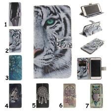 For Samsung Phone Magnetic Flip Stand Leather Wallet Card Holder Case Soft Cover