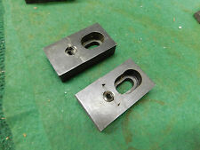 """2 J & S Tool Toe Clamps 2 3/8"""" Long x 1 1/4"""" Wide x 5/8"""" High"""