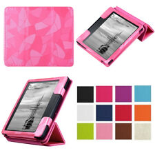 Luxury Magnetic Folio PU Leather Smart Cover Case Stand for Kinldle Oasis 2016