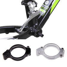 31.8/34.9mm Cycling Bike Front Derailleur Braze-on Adapter Clamp Lightweight New