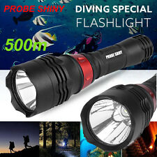 Underwater 500M 5000LM Cree XM-L T6 LED Diving Flashlight Waterproof Torch Lamp