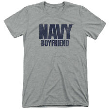 Navy Boyfriend Mens Tri-Blend Short Sleeve Shirt
