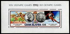 COOK ISLANDS Sc.# 1047 Olympic Stamp S/S