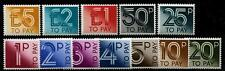 GREAT BRITAIN Sc.# J92-103 Post Dues 1982 Stamps