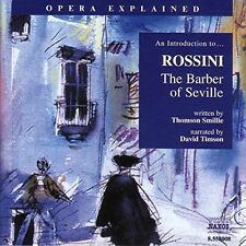 An Introduction to... Rossini: The Barber of Seville Thompson Smillie Audio CD
