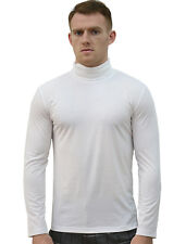 Men Long Sleeve Turtle Neck Slim Fit Casual T-Shirts