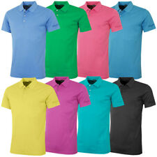 Bobby Jones Mens Solid Supreme Cotton Tailored Golf Polo Shirt 54% OFF RRP