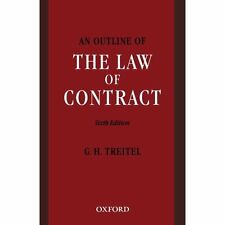 An Outline Of The Law Of Contract Treitel, G. H. (Editor)
