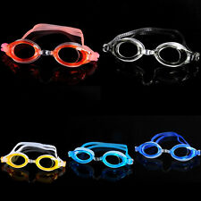 Women Men Child Adjustable Anti Fog Swim Swimming Silicone Goggles Glasses JNEG