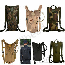 3L w/Water Bladder Bag Hydration Backpack Packs Hiking Camping Cycling Transport