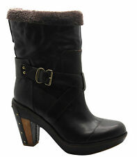 Timberland Boot Company Marge Wood Mid Womens Leather Pull On Boots 25680 U5