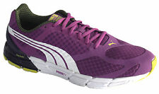 Puma Faas 500 S Womens Trainers Running Shoes Purple Mesh Lace 186726 01 D23