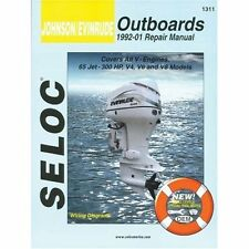 Johnson/Evinrude Outboards 1992-01 Repair Manual: All V-Engines, 65-300 Hp Seloc