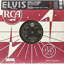 "His Latest Flame [10"" VINYL] Presley, Elvis Vinyl"