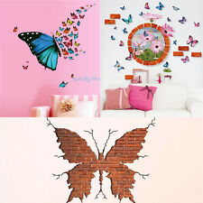 New Butterfly Removable Wall Sticker DIY Mural Art Vinyl Home Decal Room Decor