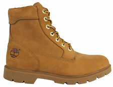 Timberland FL 6 Inch Basic Wheat Leather Waterproof Mens Womens Boots 19079 U62
