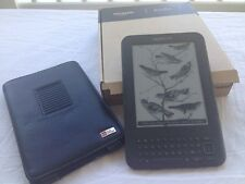 Amazon Kindle Keyboard (3rd Generation) 4GB, Wi-Fi + 3G (Unlocked), 6in - VGC!