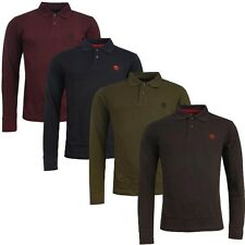 Timberland Earthkeepers Long Sleeve Pique Mens Cotton Polo Shirts 1129J R6
