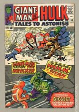 Tales to Astonish (1959-1968 1st Series) #63 VG/FN 5.0