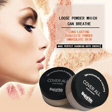 Makeup Oil Contorl Translucent Smooth Loose Powder Face Foundation Finish Powder