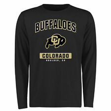 Colorado Buffaloes Black Big & Tall Campus Icon Long Sleeve T-Shirt