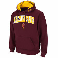 Stadium Athletic Arizona State Sun Devils Maroon Arch & Logo Pullover Hoodie