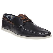 New Mens SOLE Blue Mast Leather Shoes Boat Lace Up