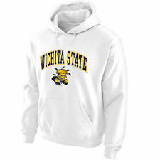 Wichita State Shockers White Midsize Arch Pullover Hoodie