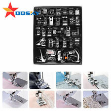36 PCS Sewing Machine Presser Foot Feet Tool Kit Set For Brother Singer Domestic