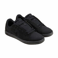 Etnies Fader Ls Mens Black Nubuck Lace Up Sneakers Shoes