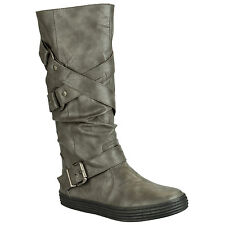 Womens Blowfish Otis Boots In Grey From Get The Label