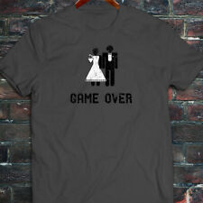Game Over Marriage Funny Meme Humor Mens Charcoal T-Shirt