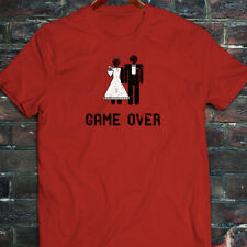 Game Over Marriage Funny Meme Humor Mens Red T-Shirt
