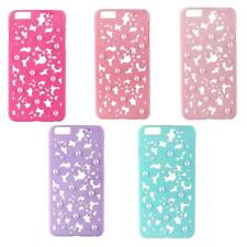 Hollow Out Luxury Bling Daisy Flower Pearl Hard Case Cover for Iphone 6 / 6 plus