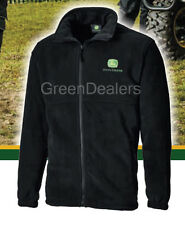 John Deere Dickies Seville Fleece Jacket - Black or Green - all size S - XXL