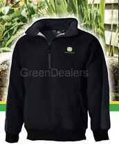 John Deere Dickies Adults Eisenhower Black Pullover Fleece - all size M - 3XL