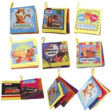1x Soft Cloth Book Baby Kids Intelligence Development Learning Cognize Book Gift