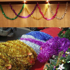Xmas Christmas Tree Hanging Glitter Garland Holiday Party Decor Ornament Gift
