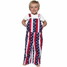 Game Bibs Toddler Overalls - Navy Blue/Red - College
