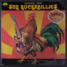 VARIOUS: Sun Rockabillies, Vol. 1 LP (gold vinyl, shrink) Rockabilly