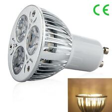 1/10pcs E27 GU10 MR16 Dimmable 9W LED Lamp Spot Light Bulb Coo l/ Warm White