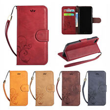 Luxury Flip Leather Case Wallet Card Slot Phone Cover Stand For iPhone 7/ 7 PLus
