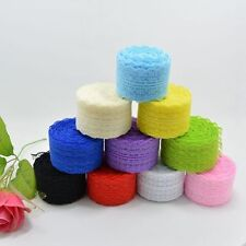 Wholesale 10 Yard Embroidered Net Lace Trim Ribbon Lace Decor For Dress Clothing