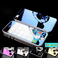 Mirror Effect Tempered Glass Screen Protector For iPhone 7 6 6S Plus 4 5S SE Lot