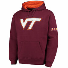 Stadium Athletic Virginia Tech Hokies Maroon Big Logo Pullover Hoodie